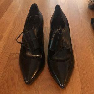 4cc340fb88 Marina Rinaldi heels. Closed toe. Made in Italy